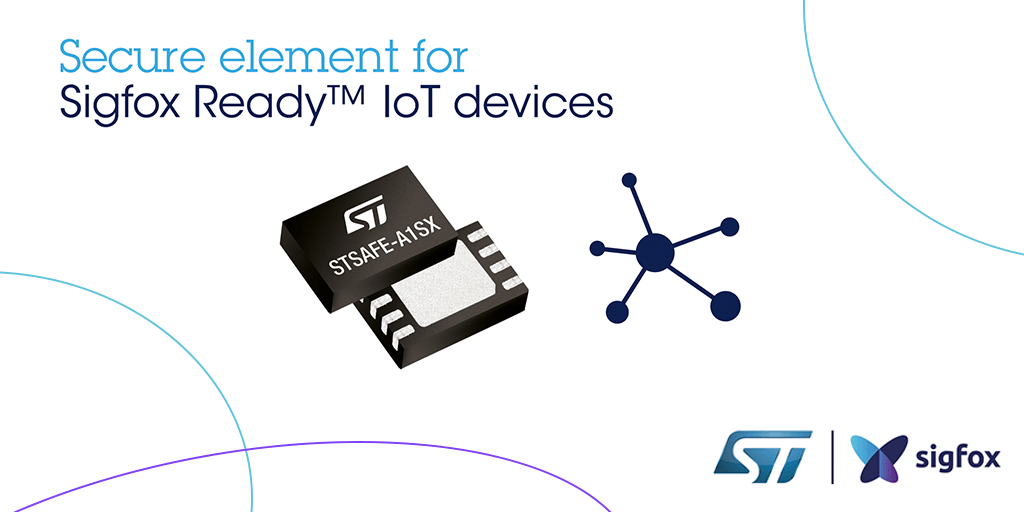 Secure element for Sigfox Ready IoT devices