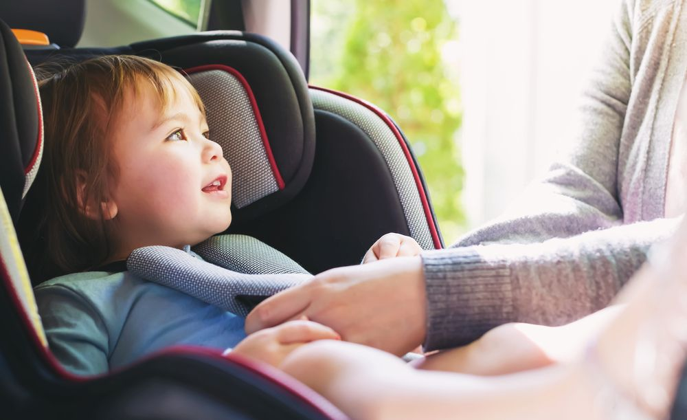 connected car seat