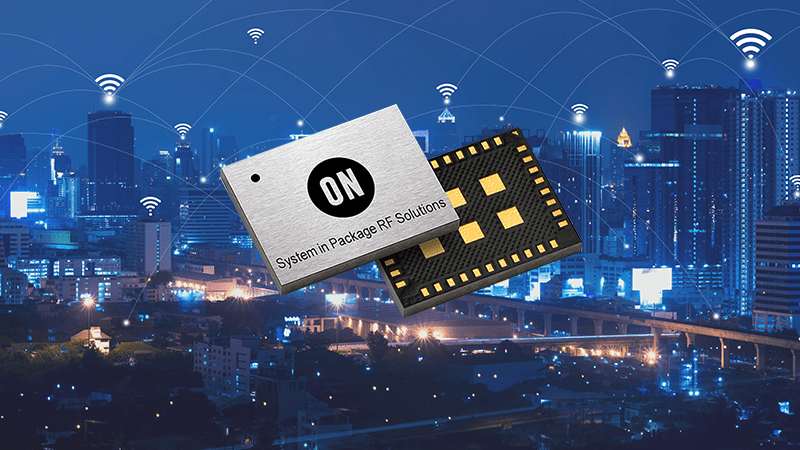 ON Semiconductor Introduces World's Most Compact Sigfox Verified Solution with its First RF System-in-Package for Low Power IoT Designs