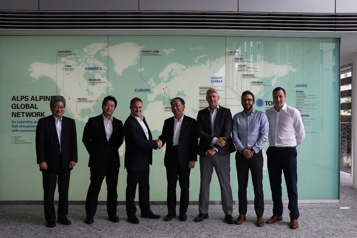 Global Alliance Partnership Agreement between Sigfox and Alps Alpine to boost innovation in IoT market