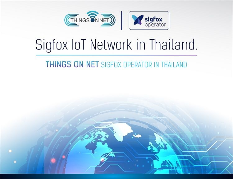 "Things on Net Co., Ltd. launched ""Sigfox 0G Network dedicated to IoT"""