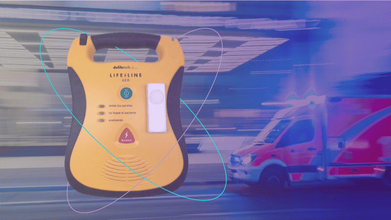 Saving lives with automated external defibrillator monitoring and SimplePack Plus