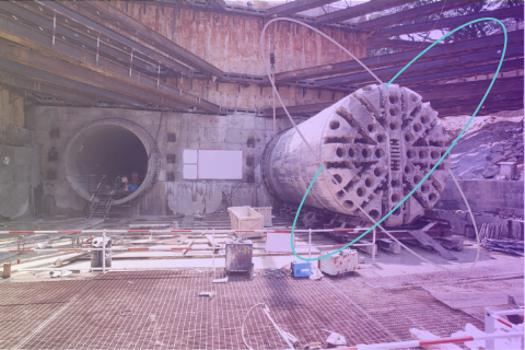 Condat introduces IoT on tunnel boring sites thanks to delaware and Sigfox