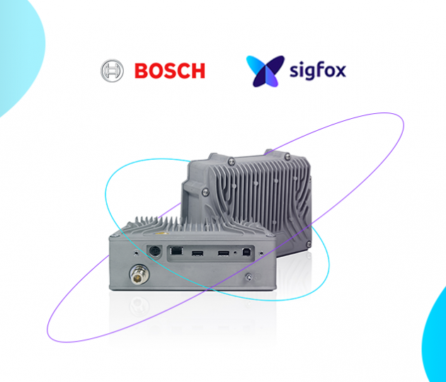 Bosch partners with Sigfox to produce the Sigfox Access Station
