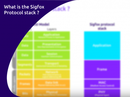 The Sigfox protocol stack is royalty free